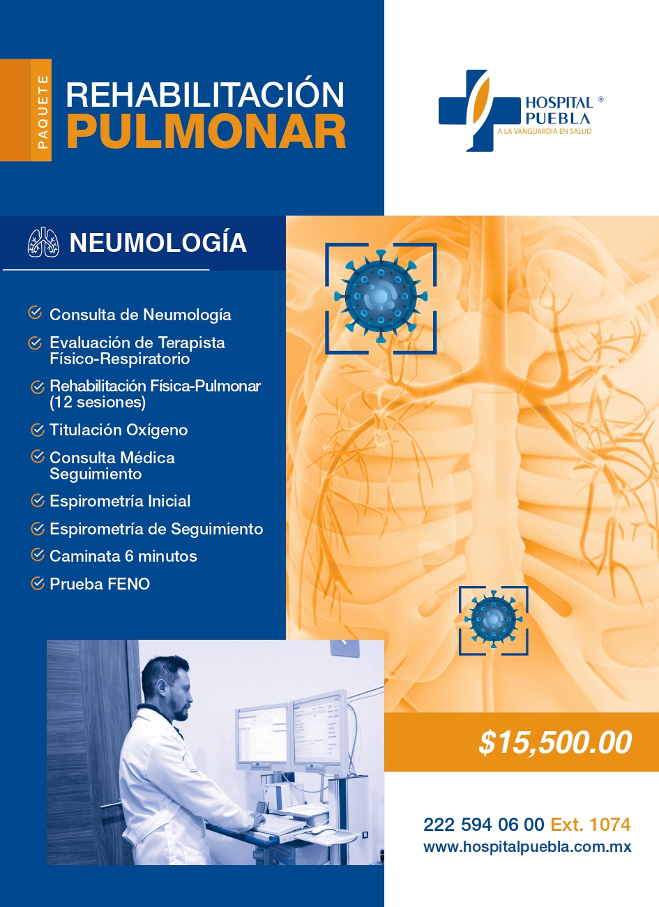 Check up covid rehabilitaciòn pulmonar