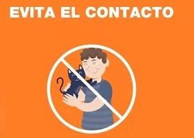 Covid-19 prevencion  evita contacto